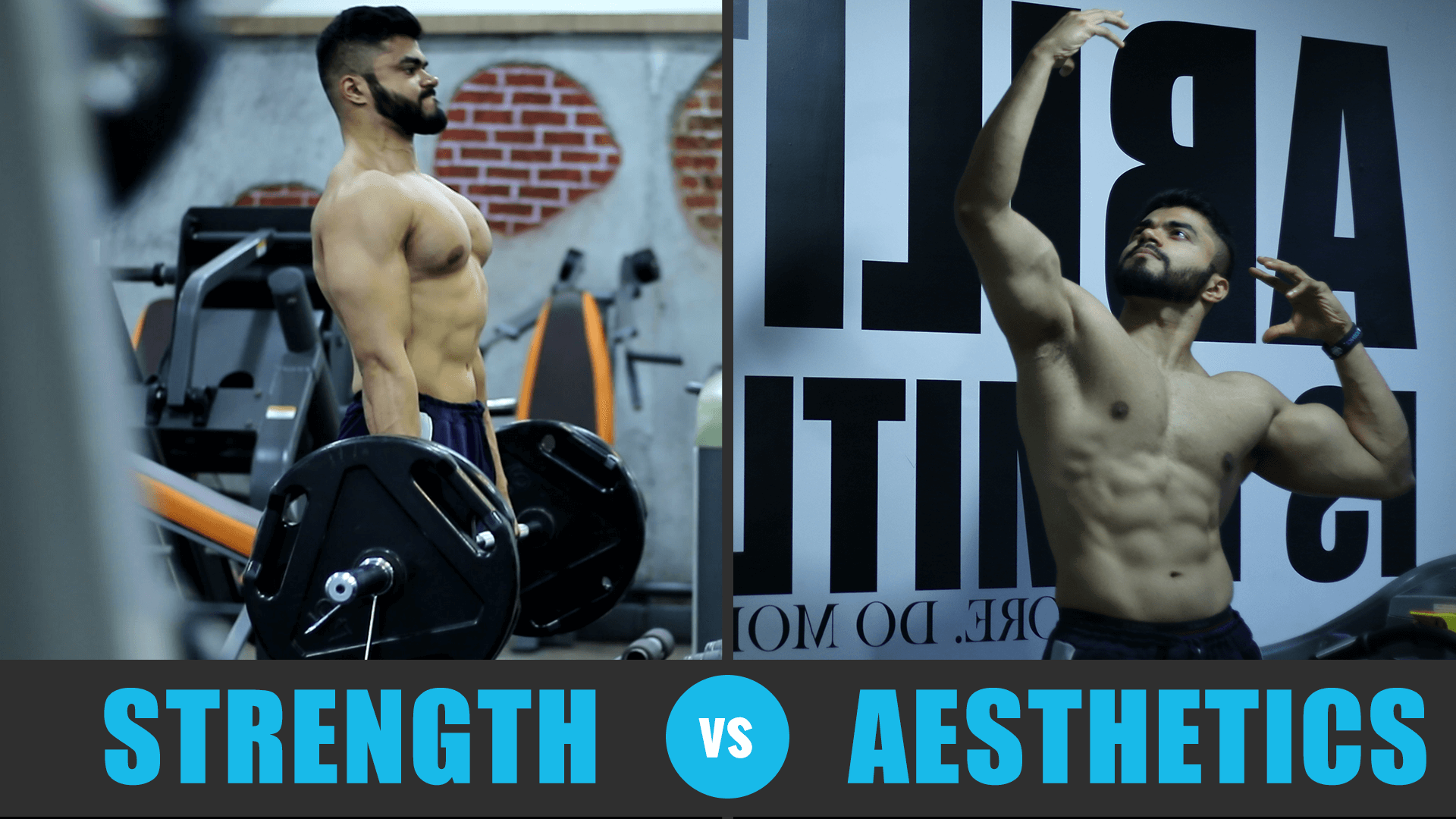 Why Strength & Aesthetics are INSEPARABLE | Powerlifting vs Bodybuilding