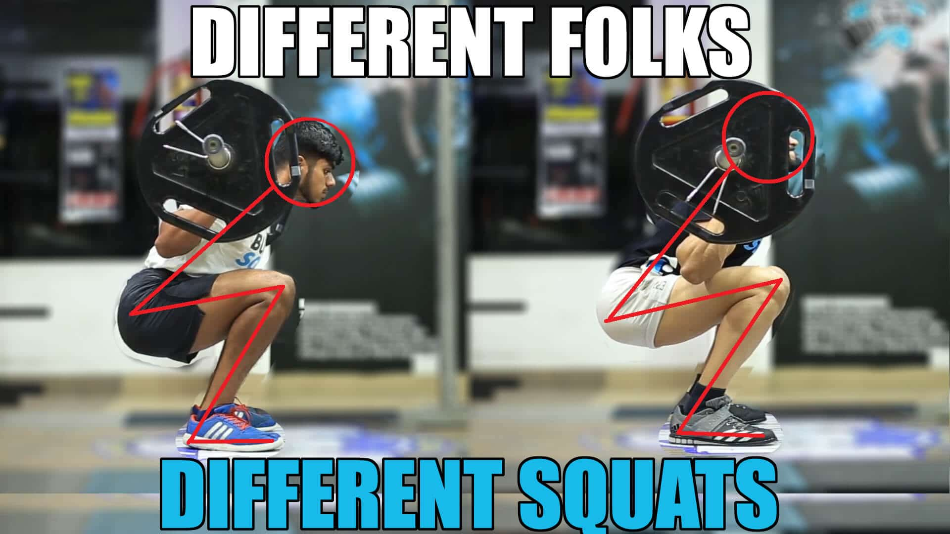 Why your Squat looks different than others | How Anatomy affects Squat Form