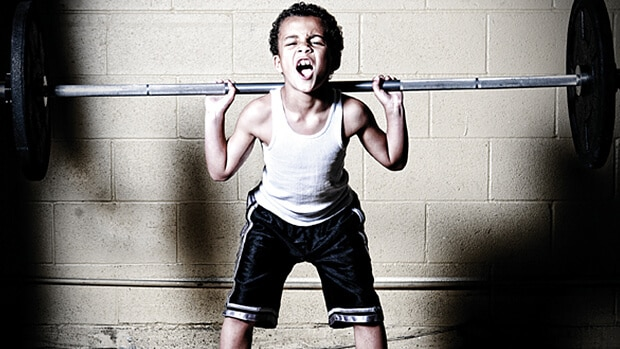 Child Lifting Weights | DOES LIFTING WEIGHTS STUNT HEIGHT GROWTH? | Explained with SCIENCE