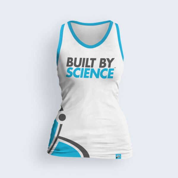 Built-By-Science-White-Women's-Tank-Top-Front